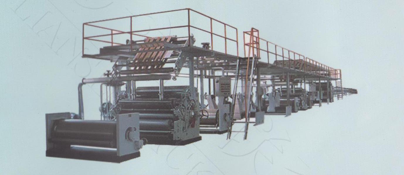 |五层瓦楞纸复合生产线|