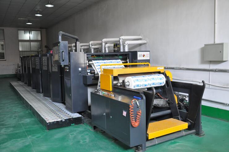 |6色高速柔板印刷机|
